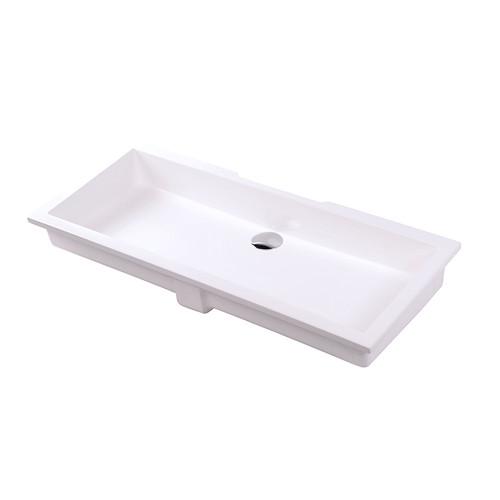"""H263UN Kubista Sink 35-1/2""""W"""