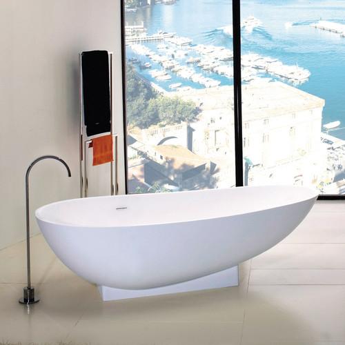 """TUB04 Ovale Bathtub 71""""W"""