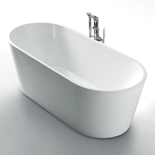 """TUB15 Aquatre Bathtub 59""""W"""