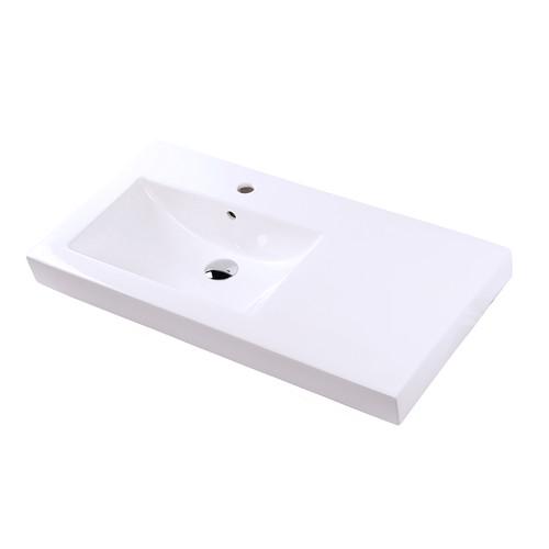 "5457 Cube Sink 35-1/2""W"