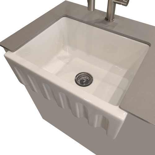 Surprising Kts82 Fire Clay Kitchen Sink 33W Home Interior And Landscaping Palasignezvosmurscom