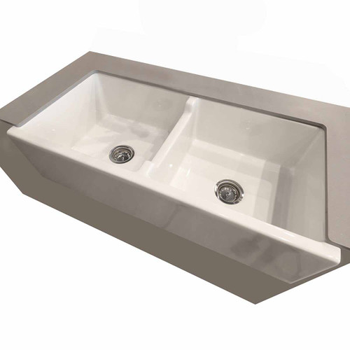"KTS-83 Fire Clay Kitchen Sink 39""W"
