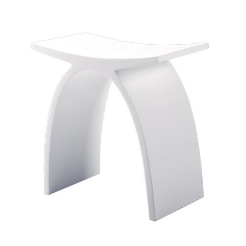 "5111 Ovale stool 17""H"
