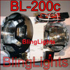 Ford Ranger Off Road Driving Lights Chrome Brush Front Bumper Bar Auxiliary Lamps Pair Set Kit