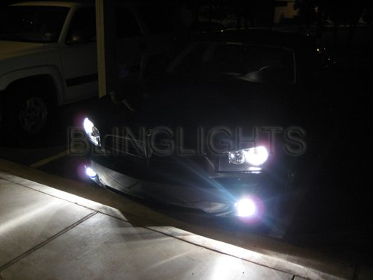 2006-2010 Dodge Charger Xenon Fog Lamp Driving Light Kit