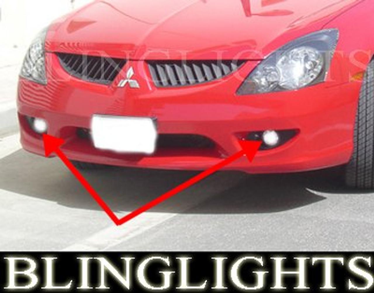2003 2004 Mitsubishi Magna Verada Xenon Fog Lamps Driving Lights Foglamps Foglights TL Kit