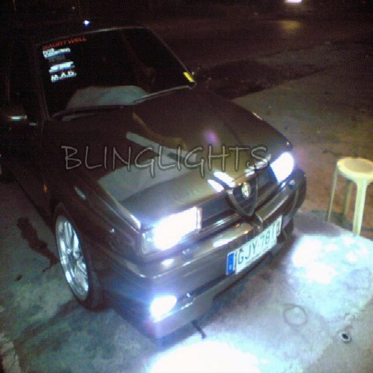 1992 1993 1994 1995 1996 1997 1998 Alfa Romeo 155 Xenon Fog Lamps Driving Lights Foglamps Kit