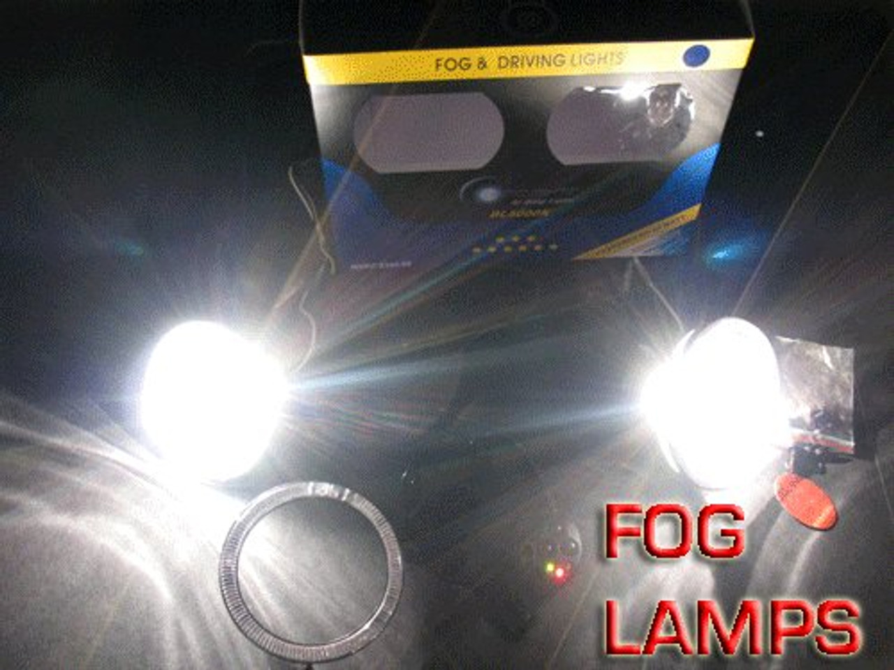 2001-2008 KIA MAGENTIS GS FOG LIGHTS LAMP ls 2002 2003 2004 2005 2006 2007