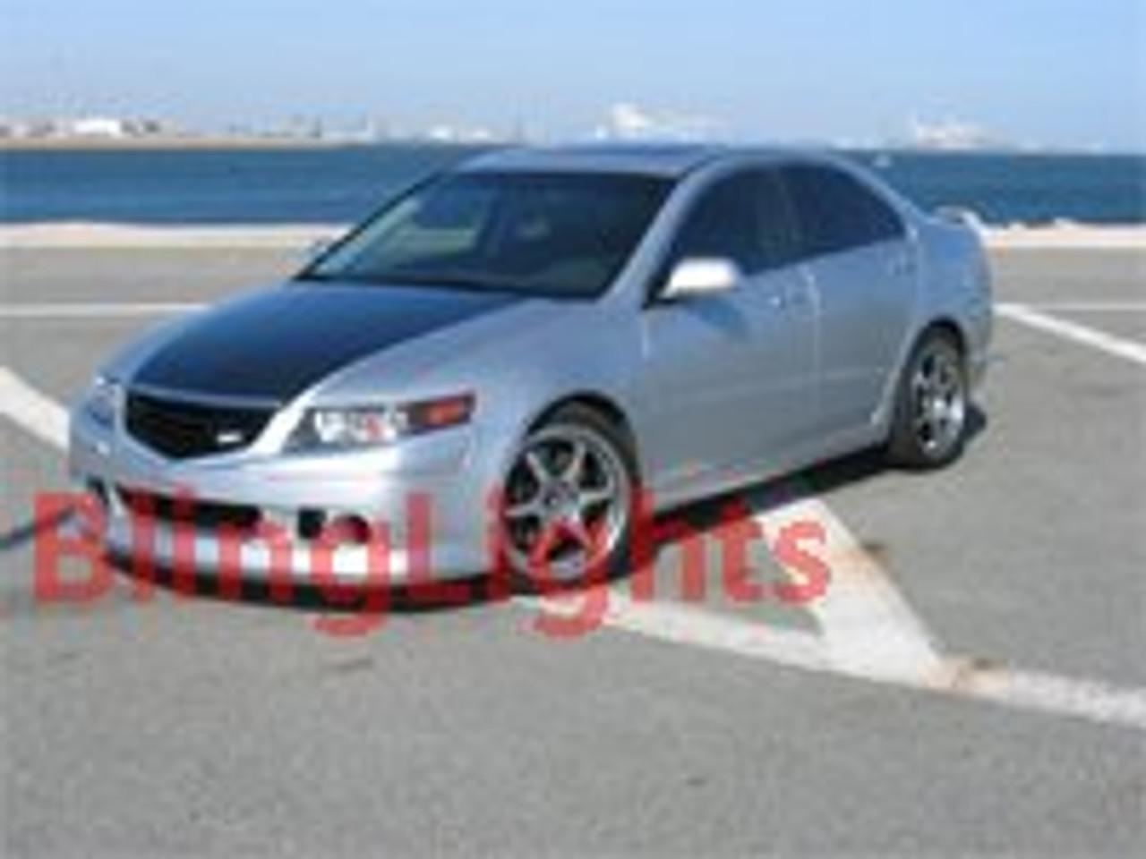 2004 2005 2006 2007 2008 Acura Tsx K Speed Body Kit Angel Eyes Fog Lamps Halos Lights K Speed Blinglights Com