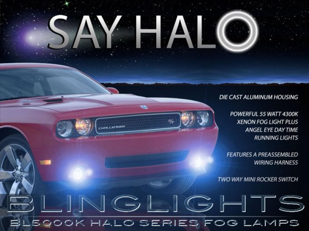 2008 2009 2010 2011 2012 2013 2014 dodge challenger eye fog lights kit -  blinglights com