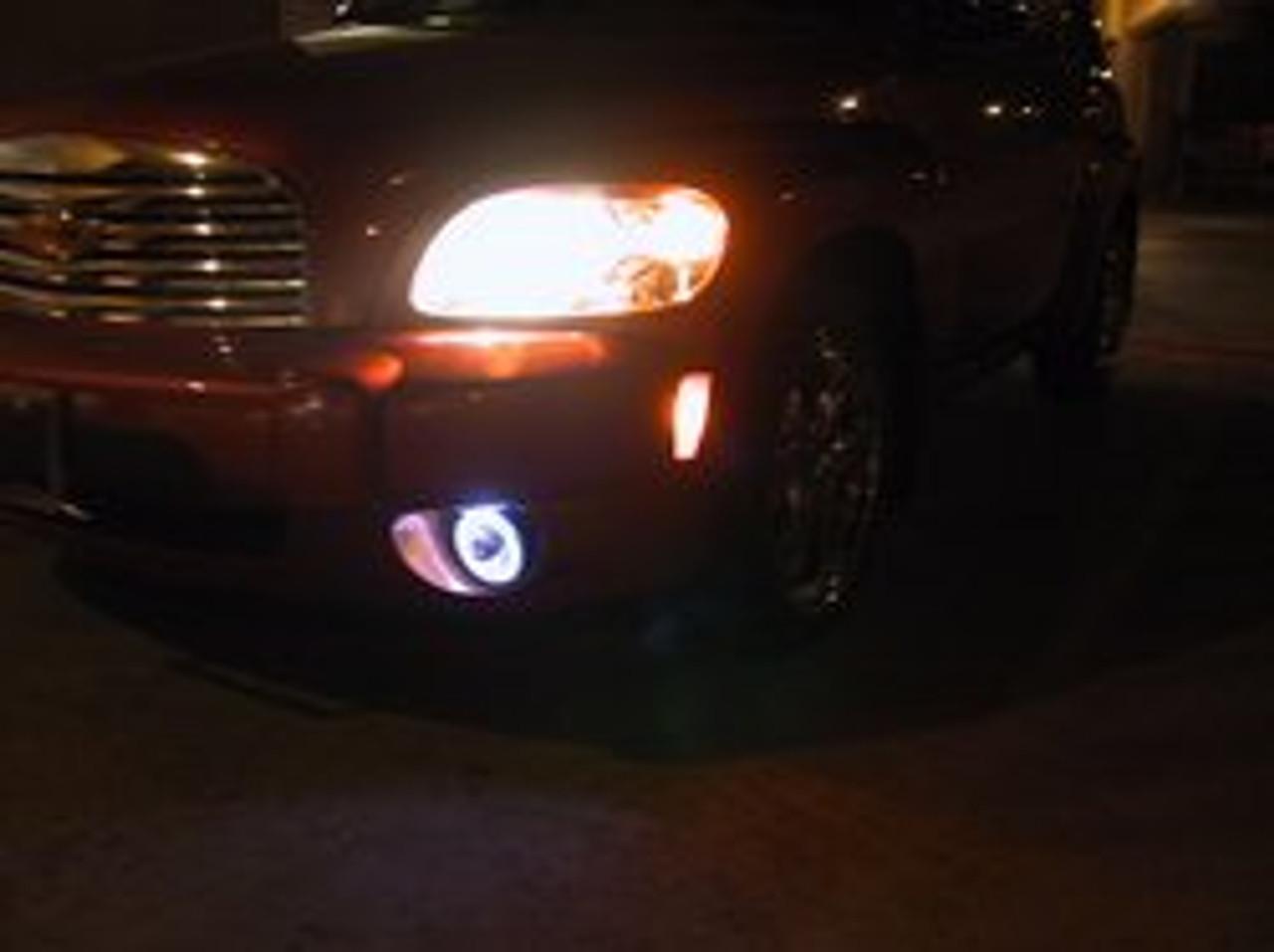 2006 2007 2008 2009 2010 2011 Chevrolet Chevy HHR Halo Fog Lamps Angel Eye Driving Lights