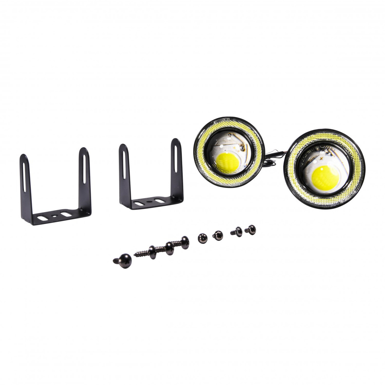LED Halo Foglamp Drivinglight Kit For 2014 2015 BMW F45 2 Series Active Tourer