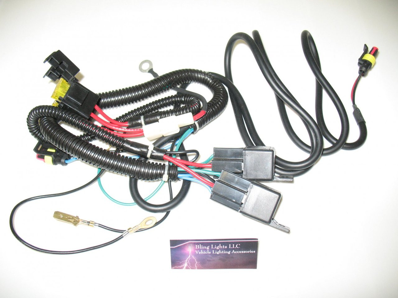 H4 Low Beam Hid Conversion Kit Universal Single Beam Relay