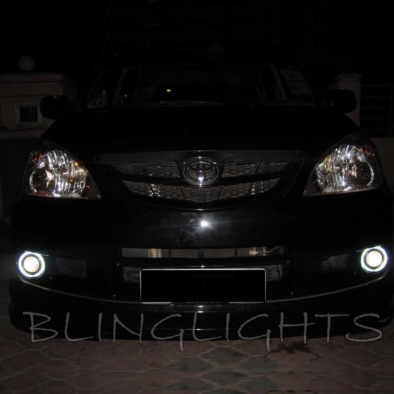 Toyota Avanza Halo Fog Lamps Angel Eye Driving Lights Kit