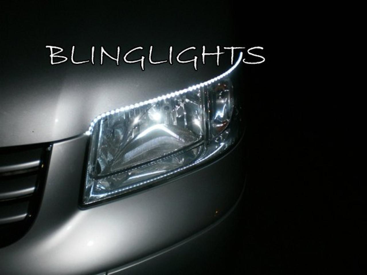 2 x VW T5 Transporter 30 LED Daytime Running Light Ultra Bright DRL Bulbs