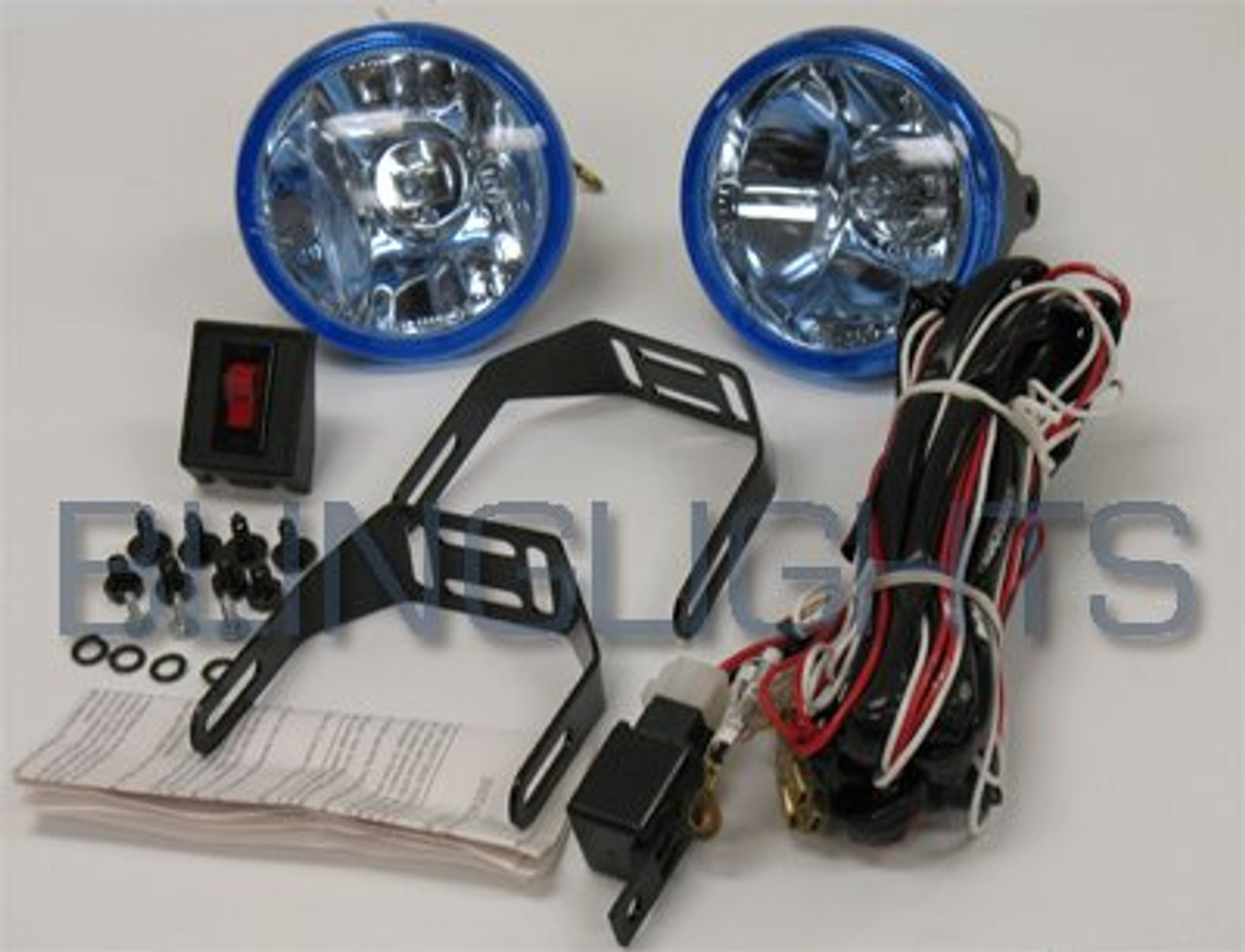 1998 1999 2000 2001 2002 2003 2004 2005 Pontiac Montana Xenon Fog Lights Driving Lamps kit sv6