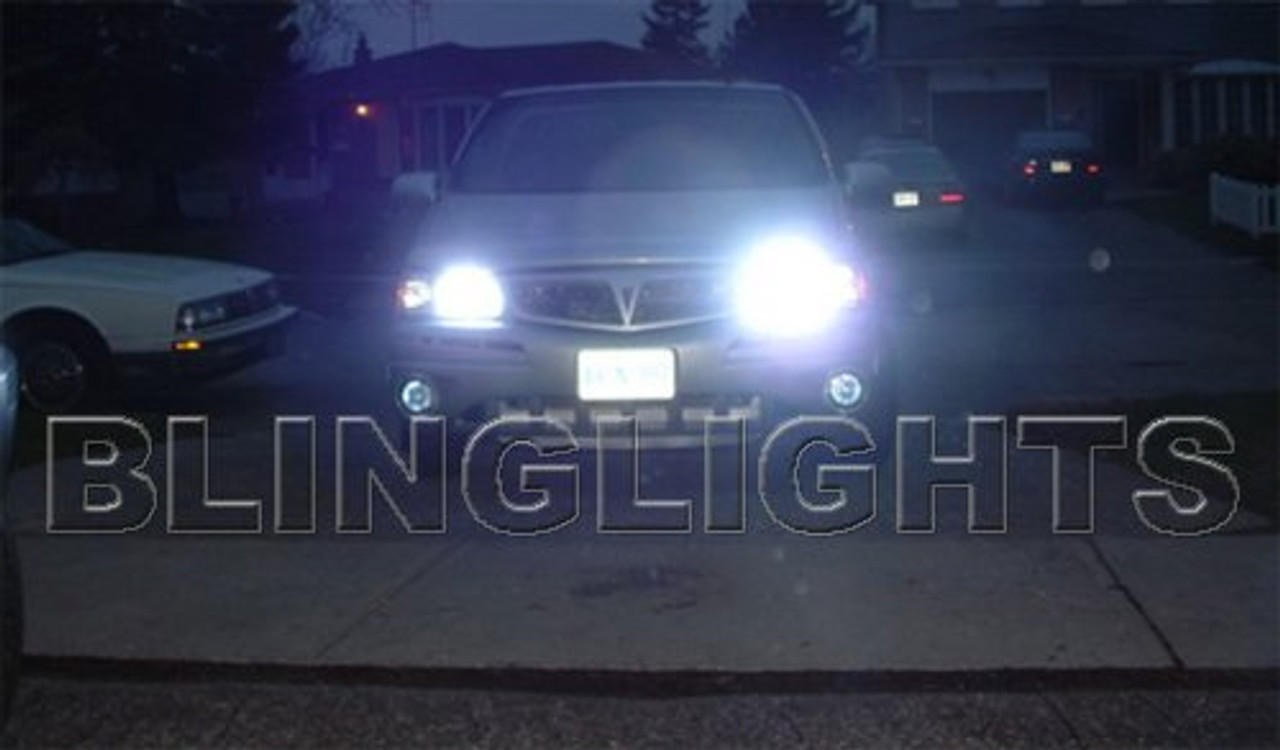 1998 1999 2000 2001 2002 2003 2004 Pontiac Montana Blue Headlamps Bulbs Headlights Head Lights Lamps