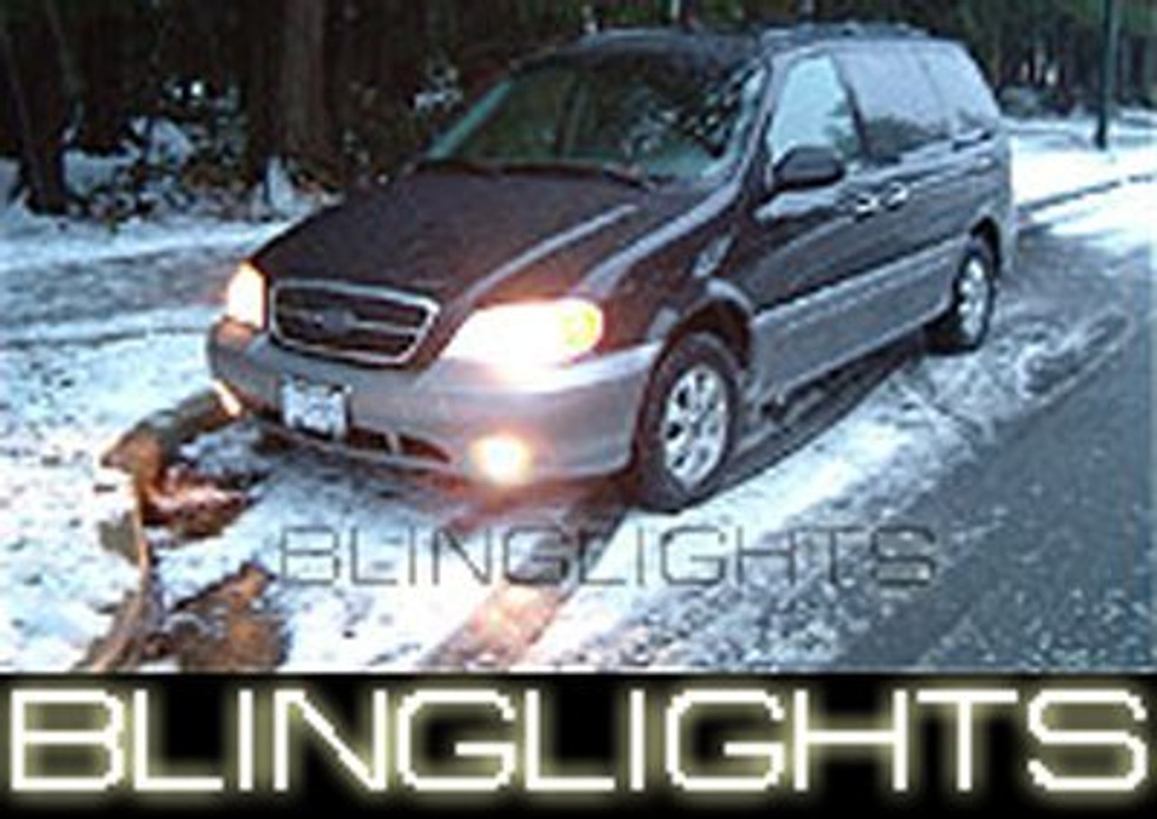 1999 2000 2001 2002 2003 2004 2005 Kia Sedona Halo Foglamps Driving Lights Kit