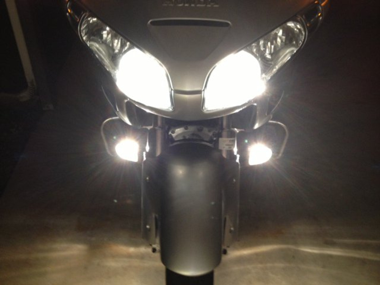 2012-2017 Honda Goldwing GL1800 Non-Halo Fog Lamps Driving Lights