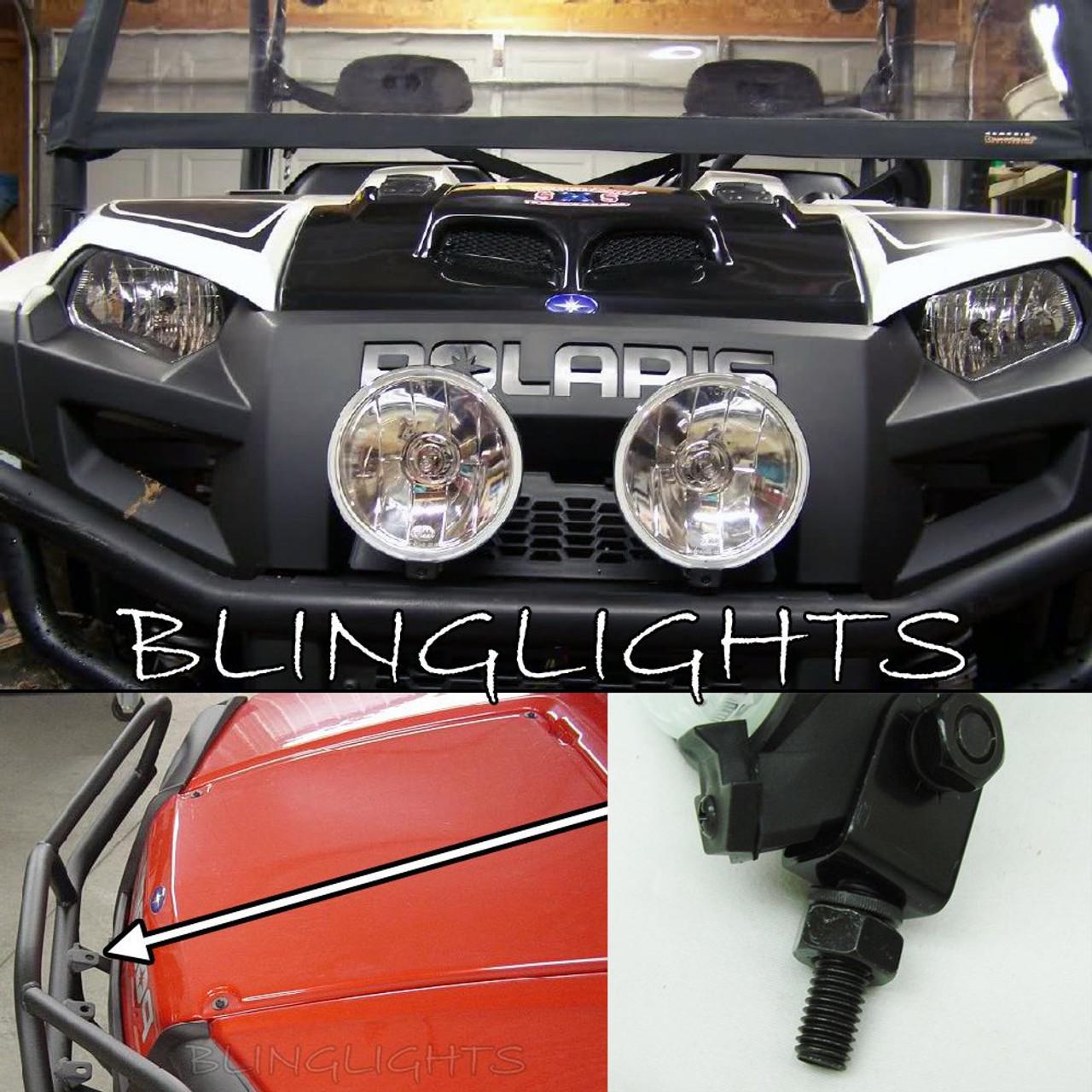 Polaris Brutus Lamp Bar Driving Lights Auxiliary Off Road Lighting Set