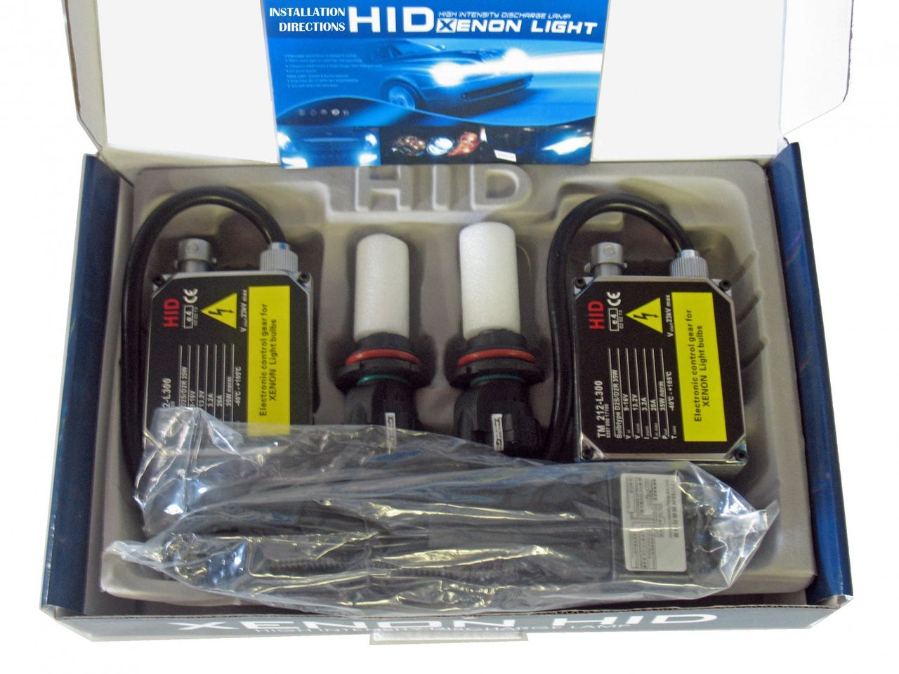 10,000K Deep Blue 55 Watt H6M Bi-Xenon HID Kit