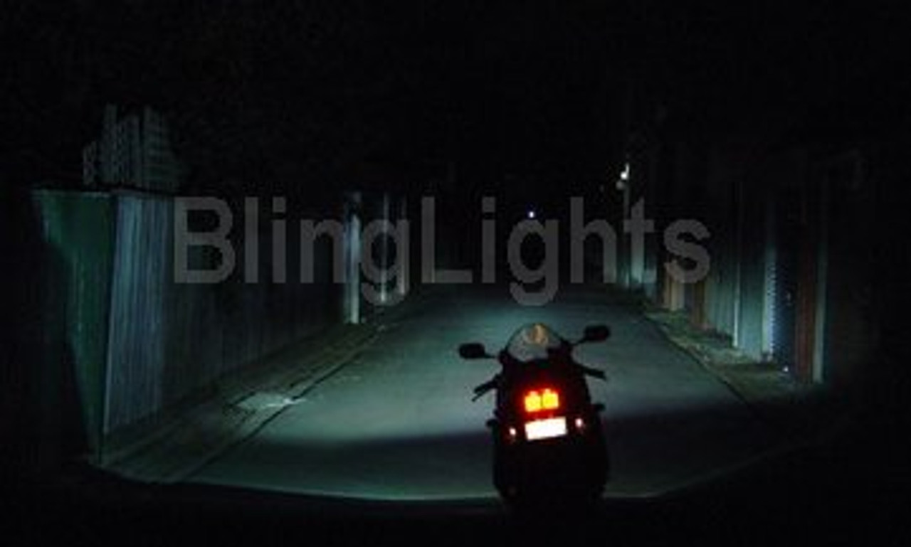 6000K JDM 55 Watt H6M Bi-Xenon HID Conversion Kit for Motorcycle ATV High Low Headlamps Headlights