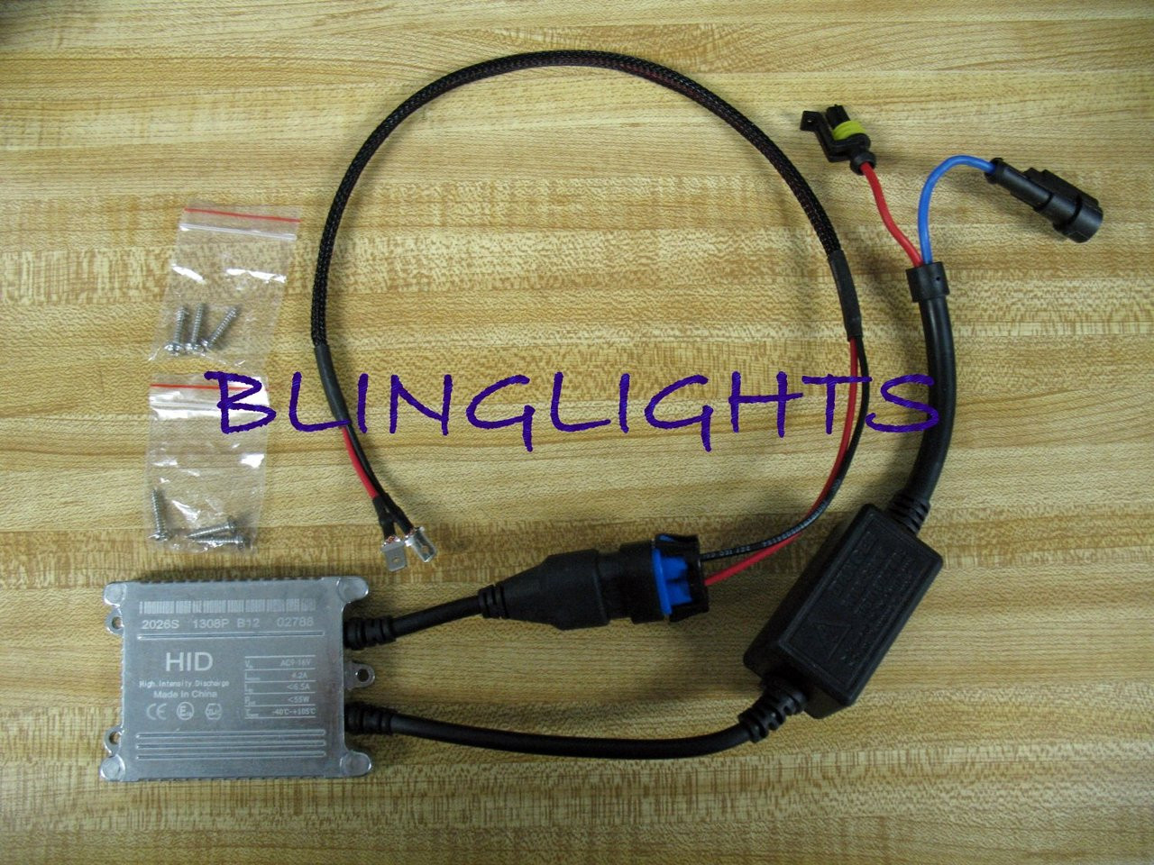 1 Single Replacement 55w Xenon HID Conversion Kit Ballast AMP Universal Part 55 Watt 55Watt Digital
