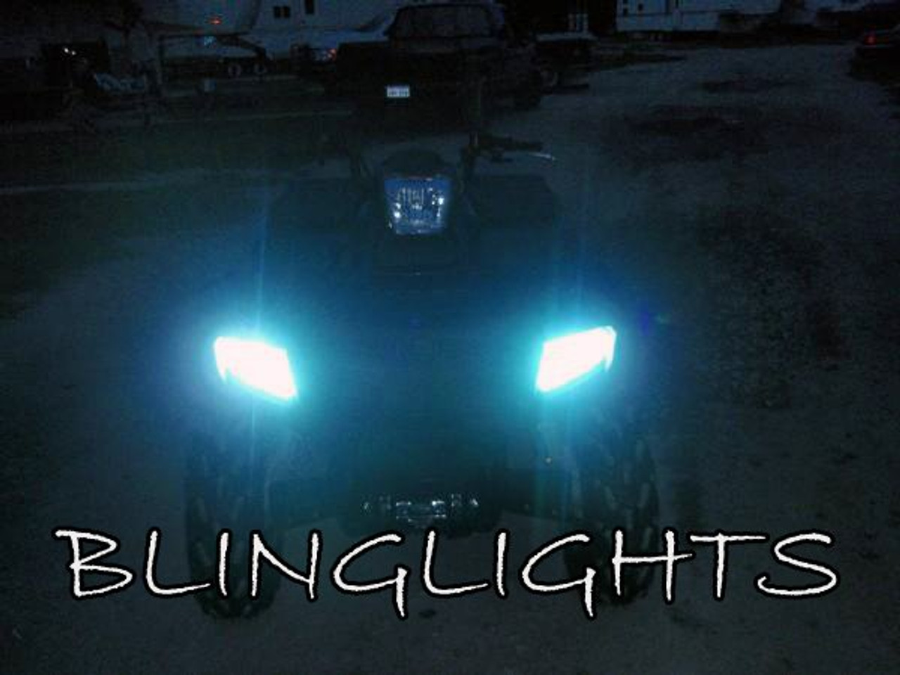 Polaris Sportsman Xenon HID 2 Light Conversion Kit for Headlamps Headlights Head Lamps HIDs Lights