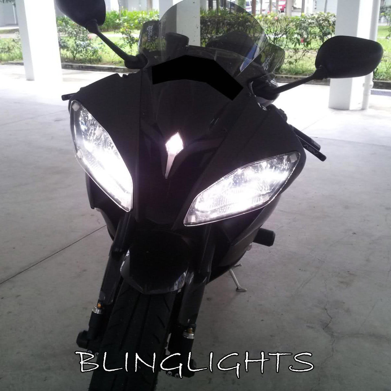 Yamaha Yzf R6 Bright White Upgrade Light Bulbs For Headlamps Headlights Head Lamps Lights Blinglights Com