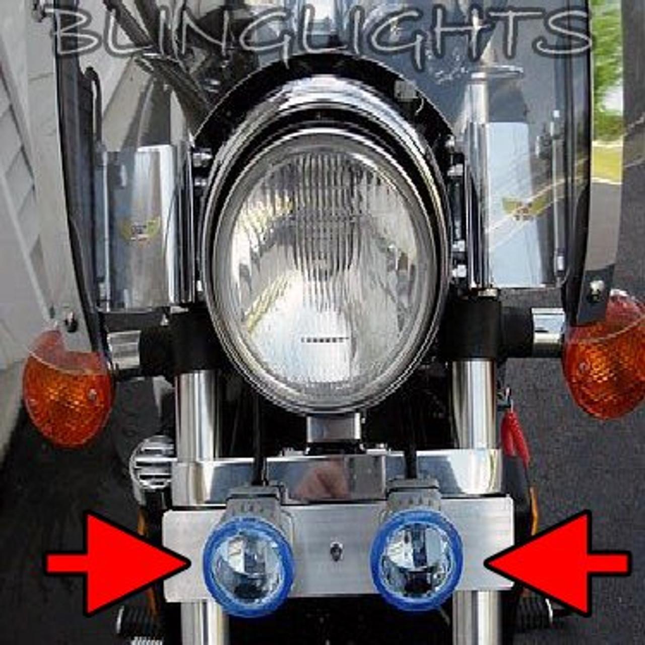 1994-2003 Honda Magna V45 VF750C Xenon Driving Lights Fog Lamps Foglamps Foglights Drivinglights Kit