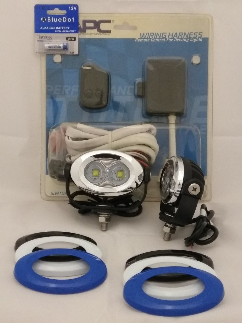 BMW R1150RT LED Auxiliary Flood Lights Lamps Kit ( all years )