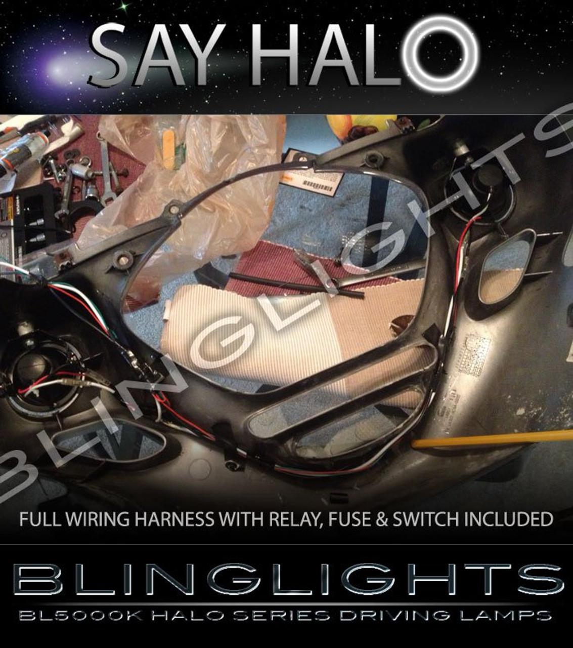 2001-2010 Honda Goldwing GL1800 Non-Halo Fog Lights Driving Lamps