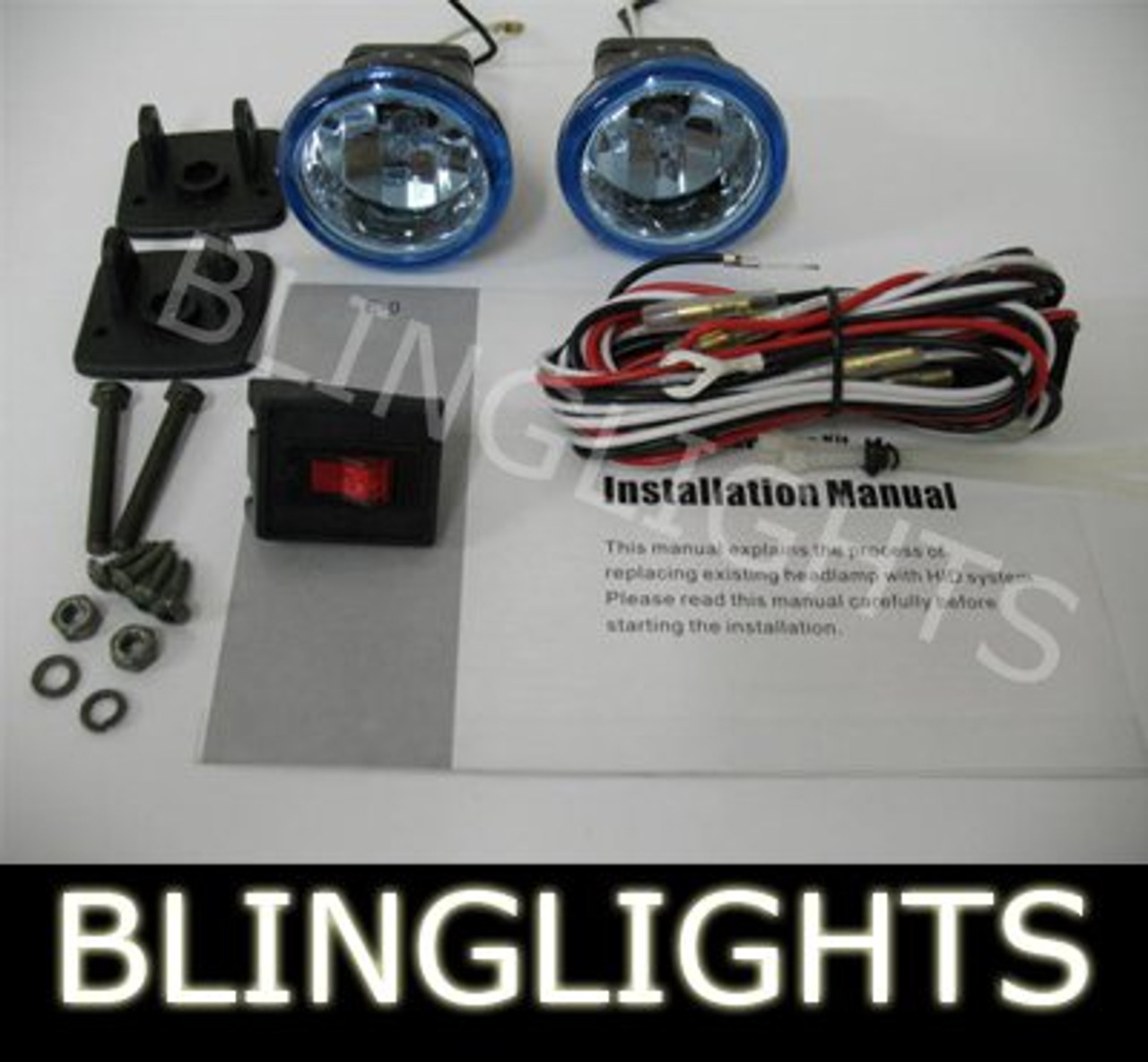 1987 1988 Honda Super Magna V45 VF750C Xenon Driving Lights Fog Lamps Foglamps Foglights Kit