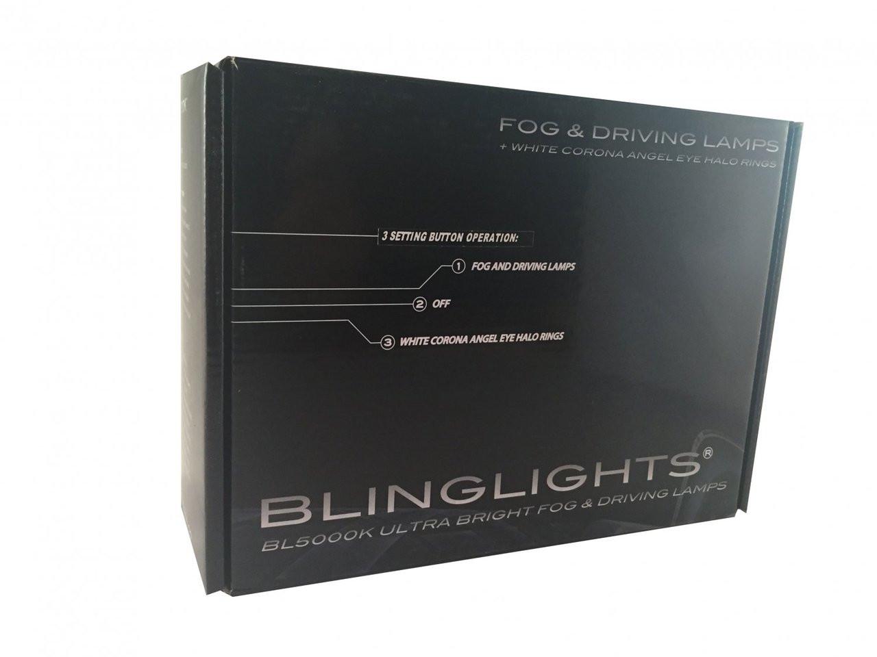 2011-2018 Dodge Journey Halo Fog Lamps Angel Eye Lights