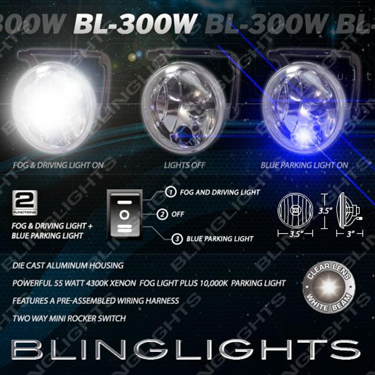 2005 2006 2007 2008 Nissan Xterra Xenon Fog Lamps Lights Kit