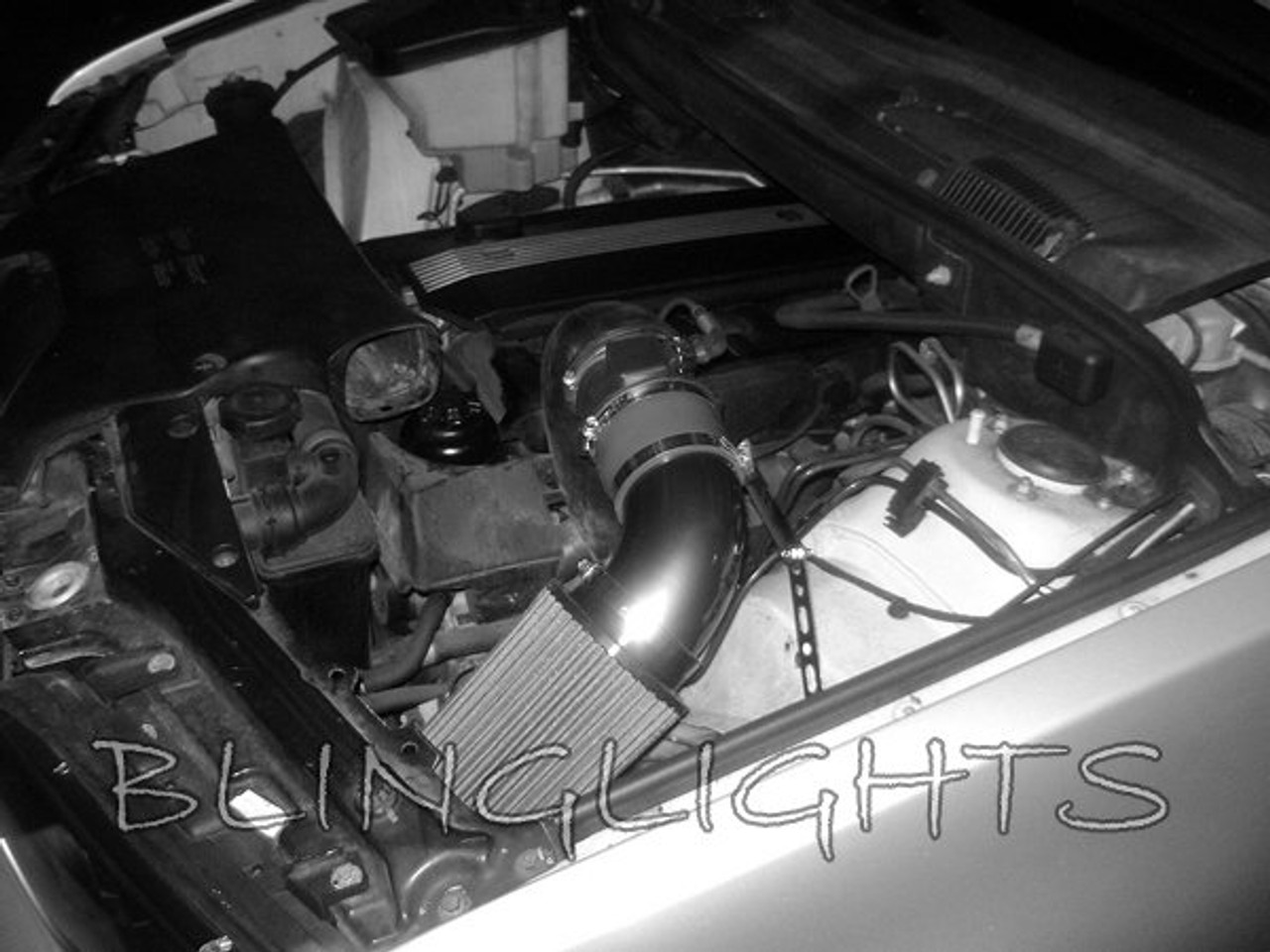 2000 2006 Bmw X5 E53 3 0l I6 Cai Cold Air Intake Kit Engine Motor Performance Accessory Blinglights Com