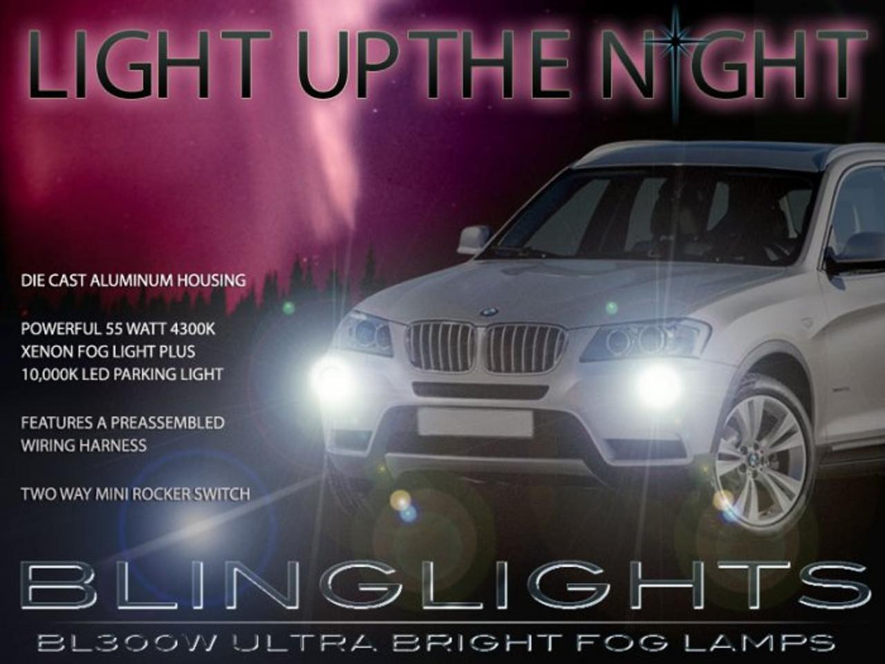 2011 2012 2013 Bmw X3 F25 Xenon Foglamps Foglights Drivinglights Driving Fog Lamps Lights Blinglights Com