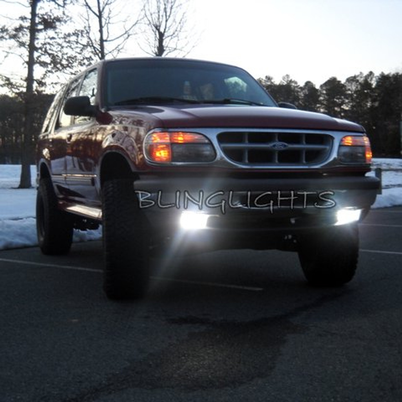1995 1996 1997 1998 Ford Explorer Xenon Fog Lamps Driving Lights Foglamps Foglights Kit