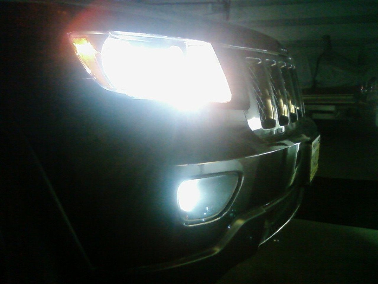2011 2012 2013 Jeep Grand Cherokee Led Fog Lamps Driving Lights Wk2