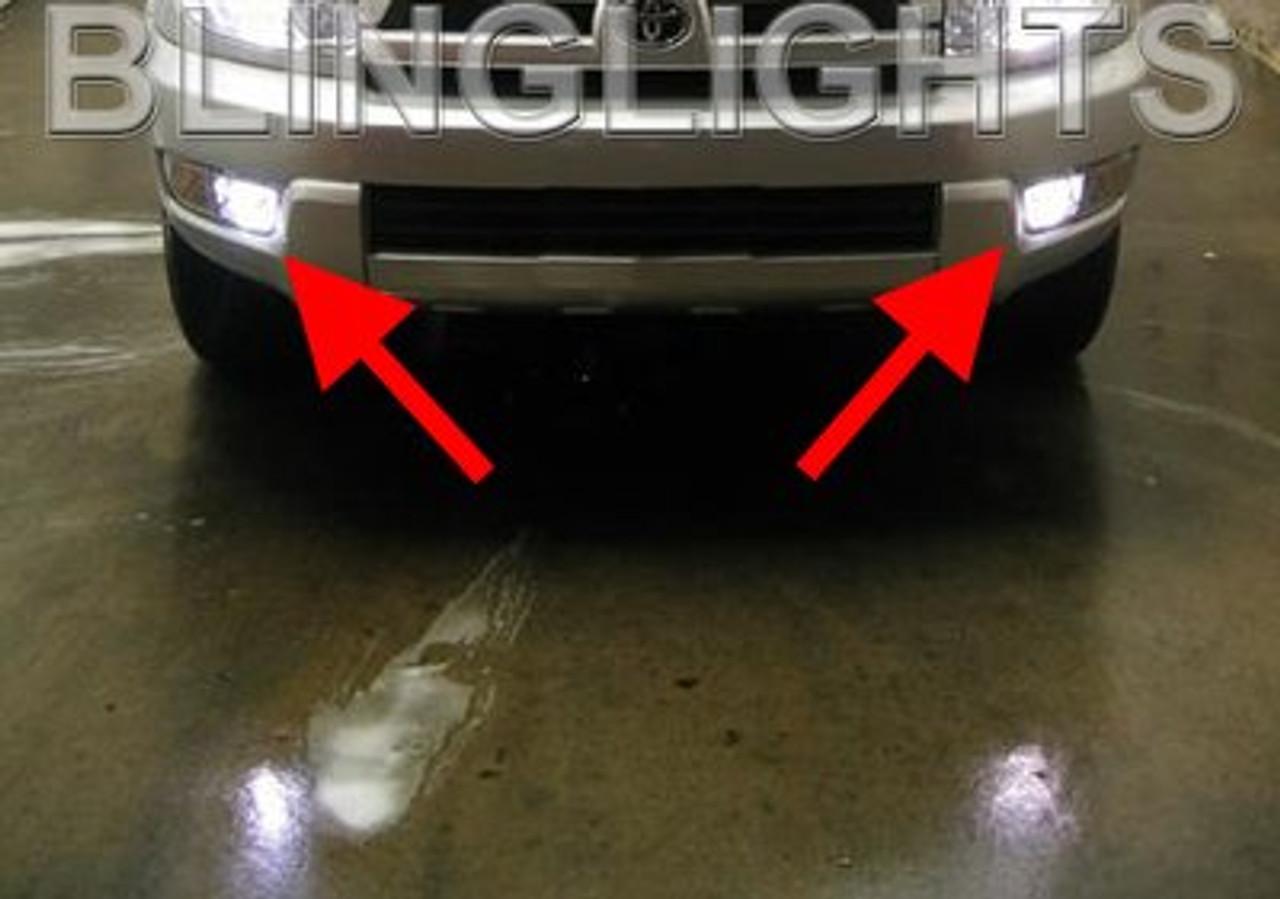 2003 2004 2005 Toyota 4runner Fog Lamp Light Bulbs Pair Bright White Blinglights Com