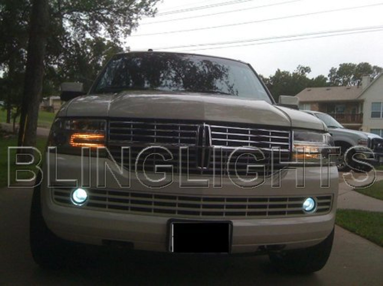 07-15 Lincoln Navigator Halo Fog Lamp Driving Light Kit Angel Eyes