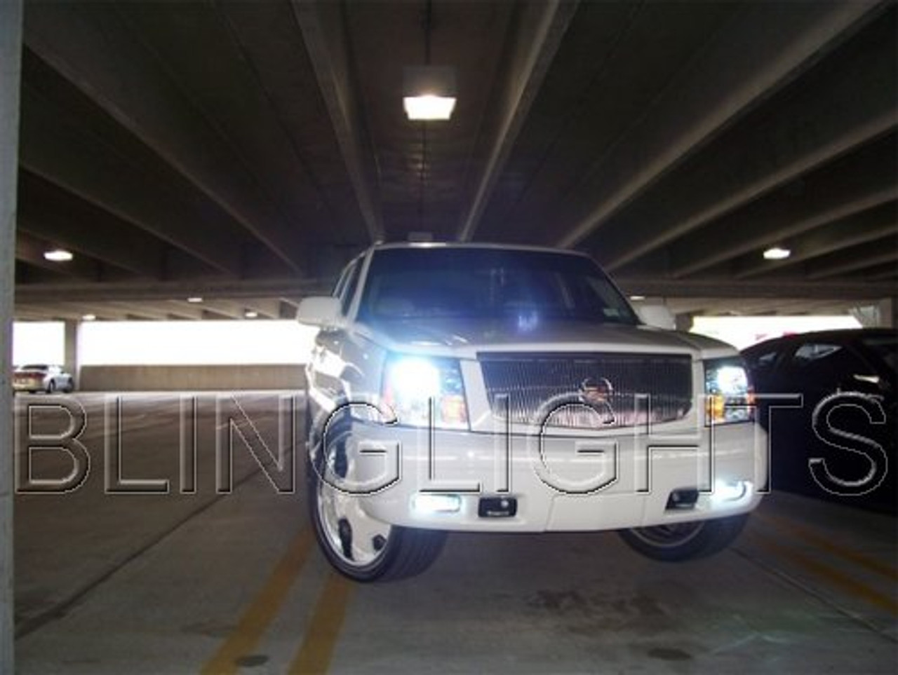 2003 2004 2005 2006 Cadillac Escalade Xenon HID Bulbs Headlamps Headlights Head Lamps Lights ESX EXT