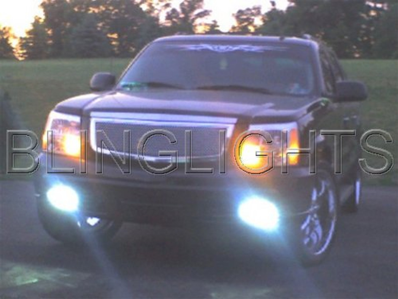 2002 2003 2004 2005 2006 Cadillac Escalade Xenon HID Conversion Kit Fog Lamps Driving Lights ESV EXT