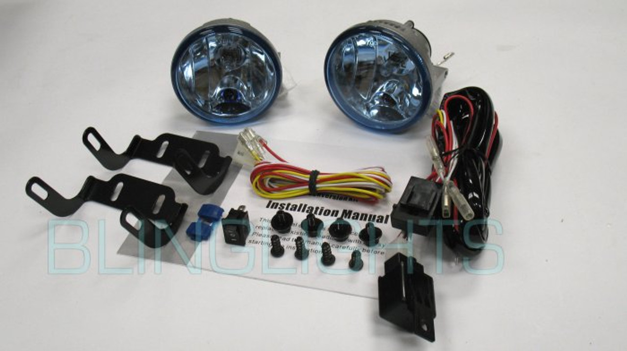 2010 2011 2012 RX350 RX450h Xenon Fog Lamps LED Driving Lights Kit A Driving Light Kit Wiring Diagram on
