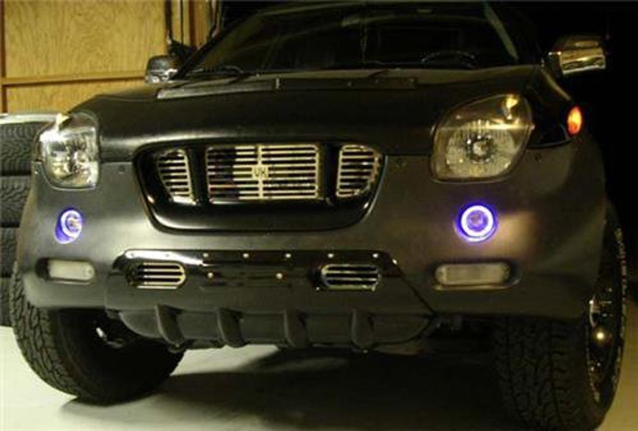 1998 1999 2000 2001 Isuzu VehiCROSS Halo Fog Lamps Driving Lights Kit