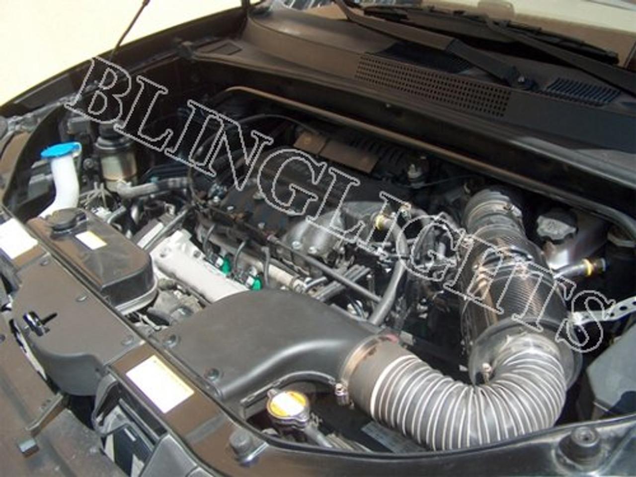 hyundai santa fe 2 7l 2 7 l delta v6 cold air performance engine motor intake cai system blinglights com hyundai santa fe 2 7l 2 7 l delta v6 cold air performance engine motor intake cai system