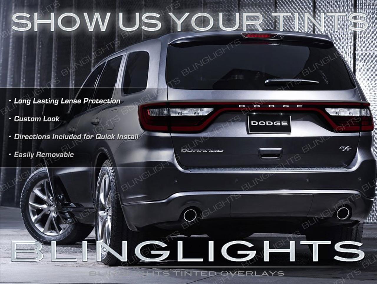 Dodge Durango Tinted Tail Light Overlays Lamp Vinyl Cover Guards Sticker Blinglights Com