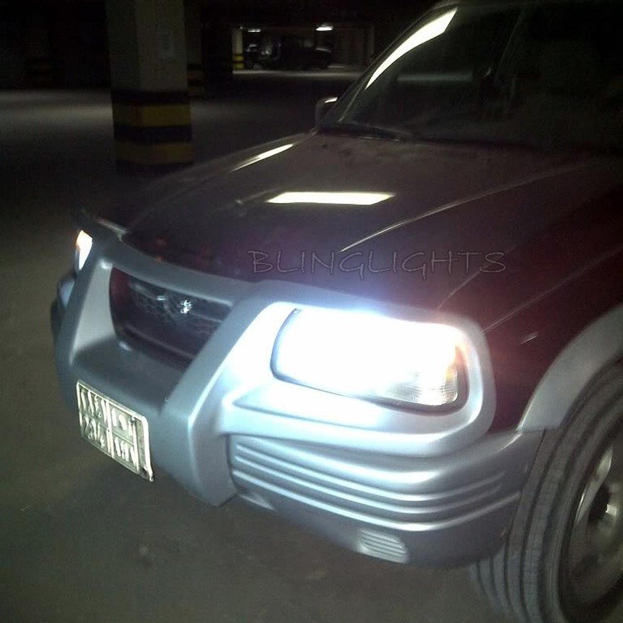 Xenon Halogen Light Bulbs Cadillac Escalade 1999 2000 2001 2002 Low/&High Beam