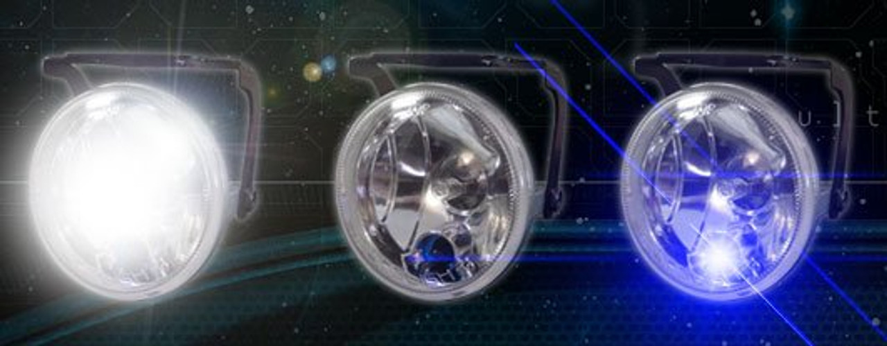 Xenon Halogen Fog Lamps Driving Light for 2007-2018 Jeep Wrangler Bumper