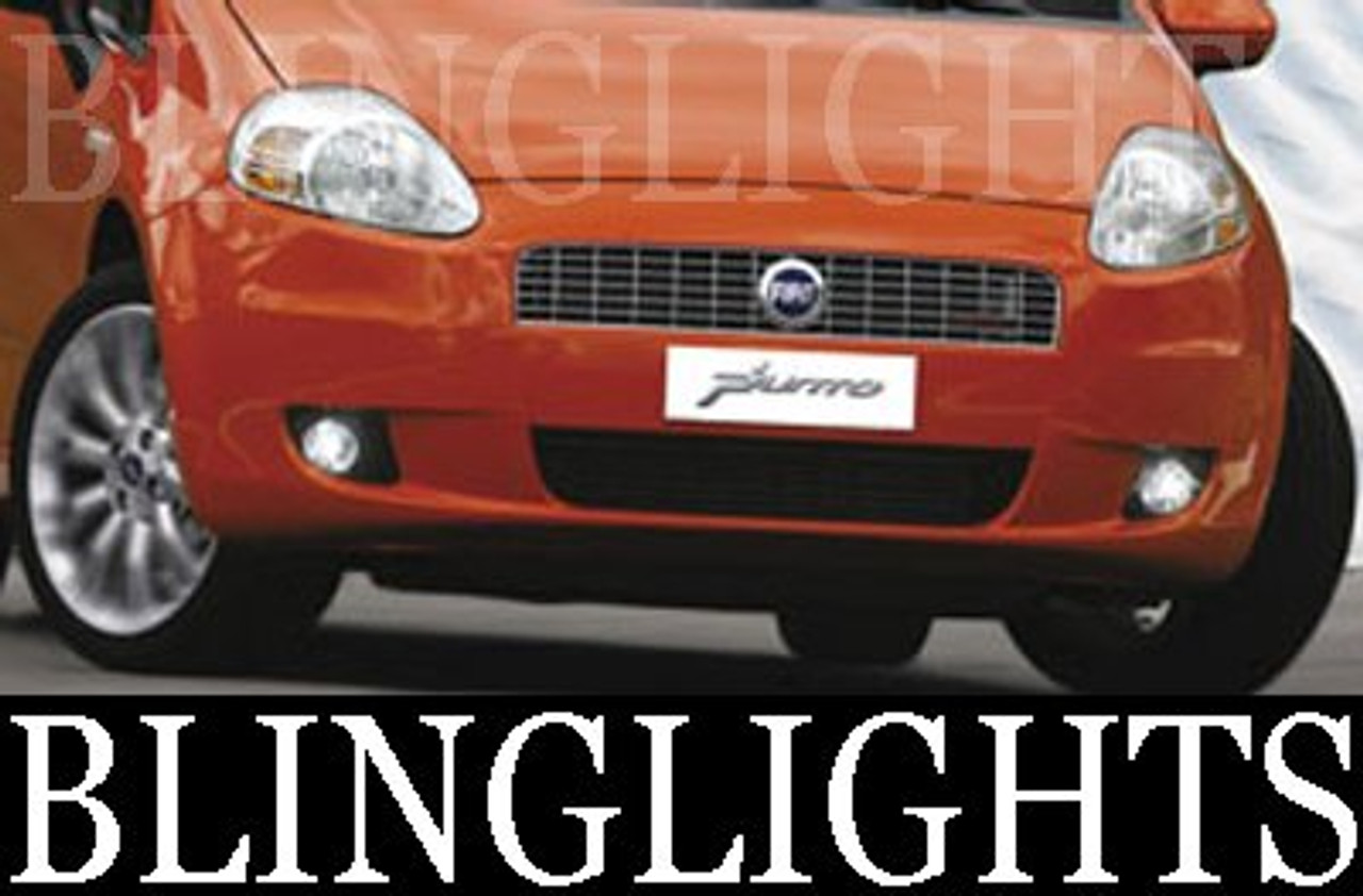 1993-2007 FIAT PUNTO FOG LIGHTS 3dr HATCHBACK 1998 1999 2000 2001 2002 2003 2004 2005 2006